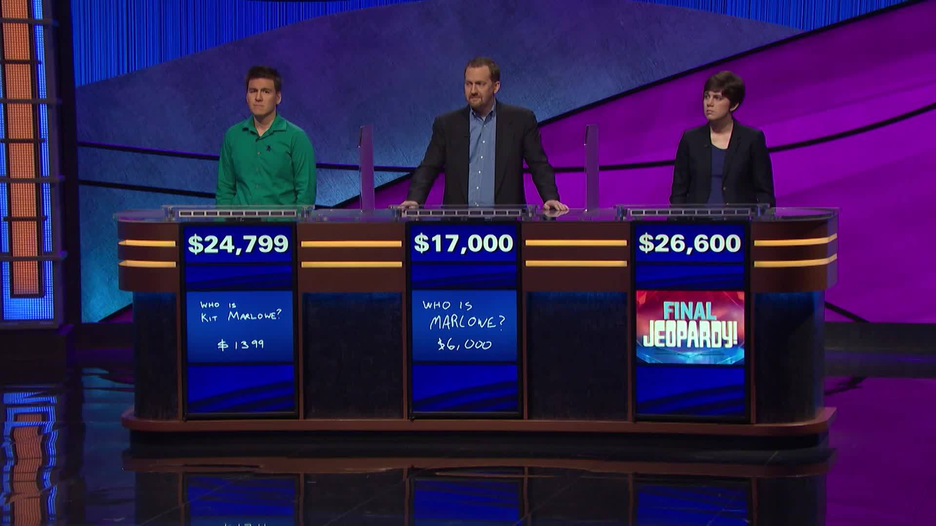 WATCH: James Holzhauer loses Jeopardy after 32 wins