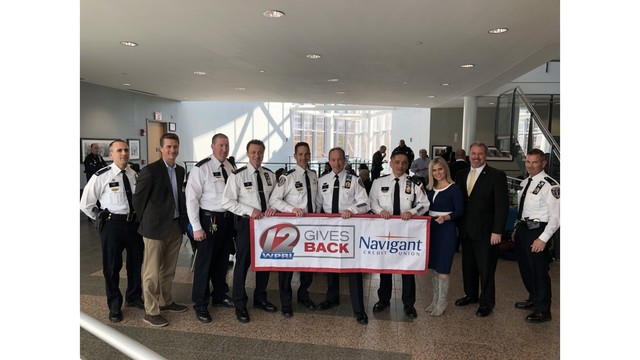 12 Gives Back honors the Providence Police Department