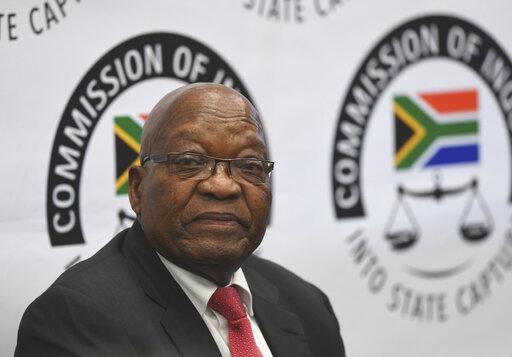 South Africa's ex-president denies corruption at inquest – WPRI com