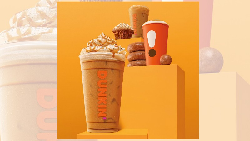 Pumpkin lovers rejoice: Fall arriving early at Dunkin