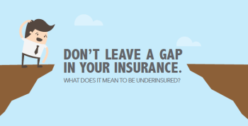 What does it mean to be underinsured?