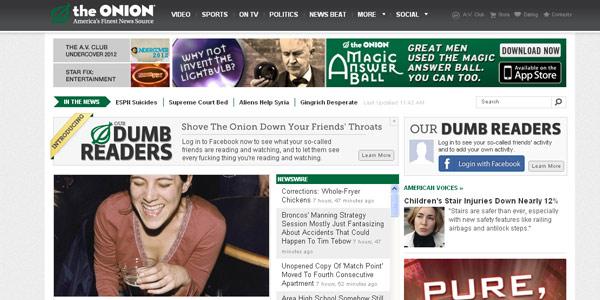 great grid system for newspaper website