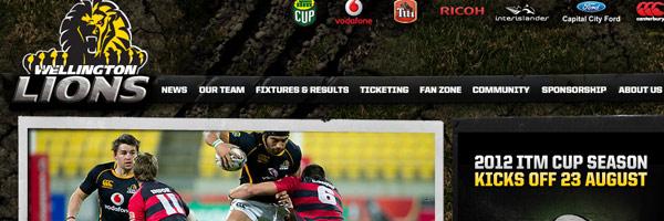 sport website designs