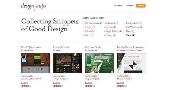 design snipets