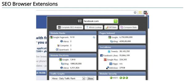 link building for your website - SEO Browser Extensions  WebRankStats