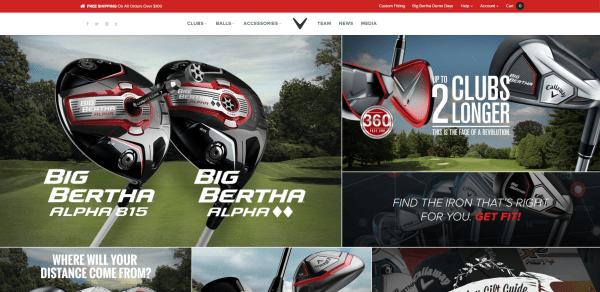 Callaway Golf Site   Golf Clubs   Golf Equipment