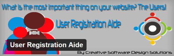 User Registration Aid