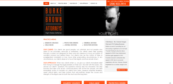 Burke Brown Attorneys — Criminal Defense Attorneys — Seattle  Washington – Criminal Defense Attorneys in Seattle  WA