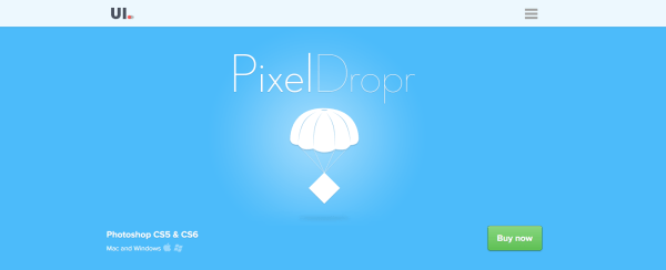 Pixel Dropr   Create and share your own pixel collections within Photoshop - top websites for developers