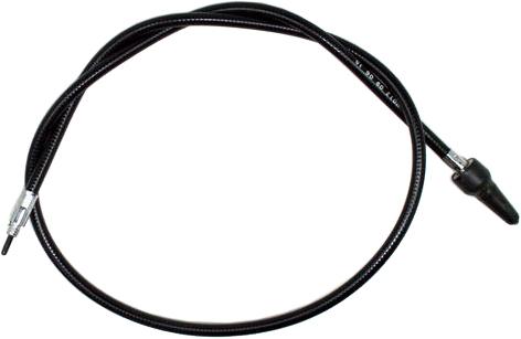 Black Vinyl Speedo Cable Harley H-D FLSTC Heritage Softail