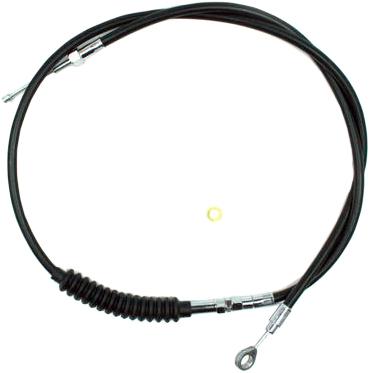 Motion Pro Black Vinyl Clutch LW Cable Harley-Davidson