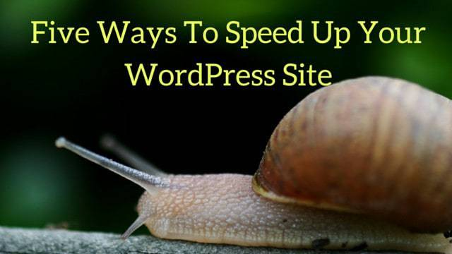 How to speed up WordPress site