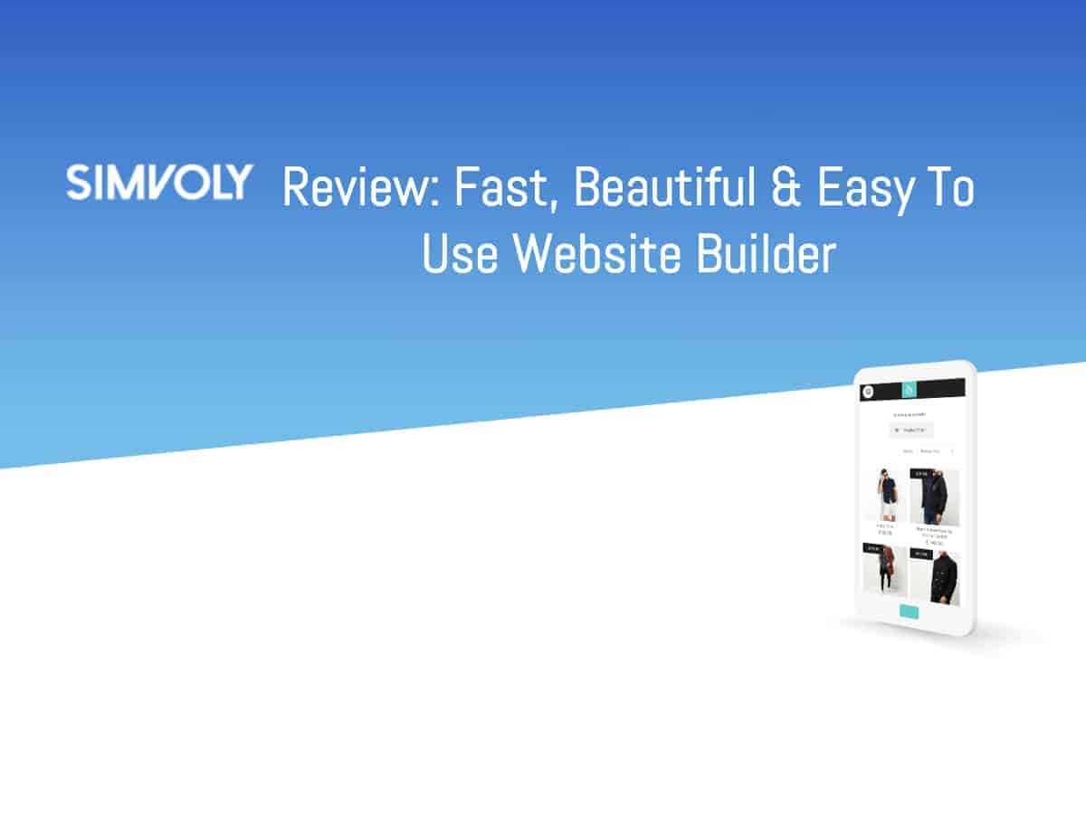 Simvoly Review: Amazing Website Builder at an Affordable Price