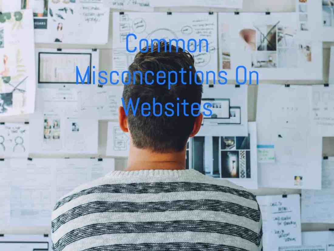common misconceptions on websites