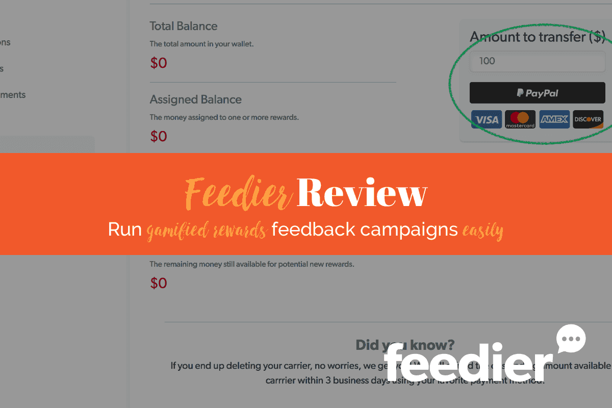 Feedier Review: Collect Valuable Feedback Easily