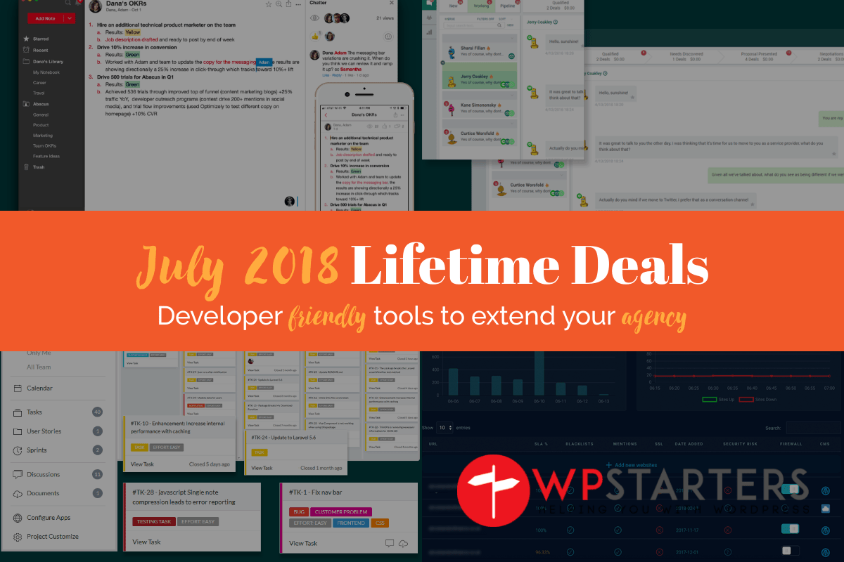 July 2018 Lifetime Deals: Deals for Developers