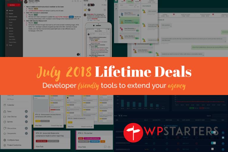 July 2018 Lifetime Deals