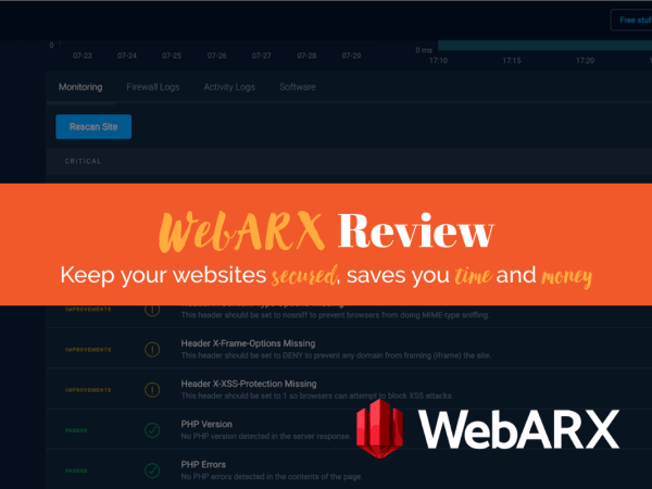 WebARX Review