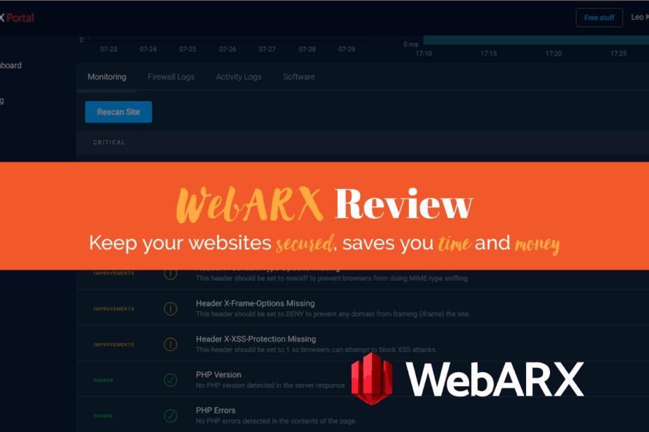 WebARX Review