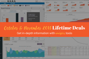 October and November 2018 Lifetime Deals