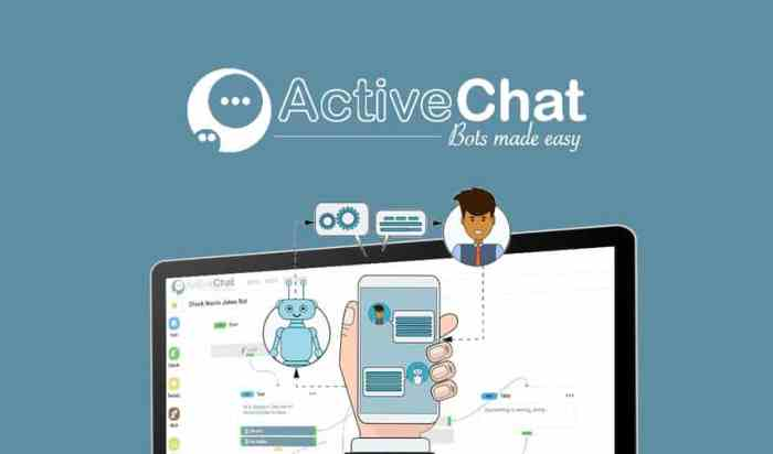 ActiveChat - a powerful chatbot with NLP