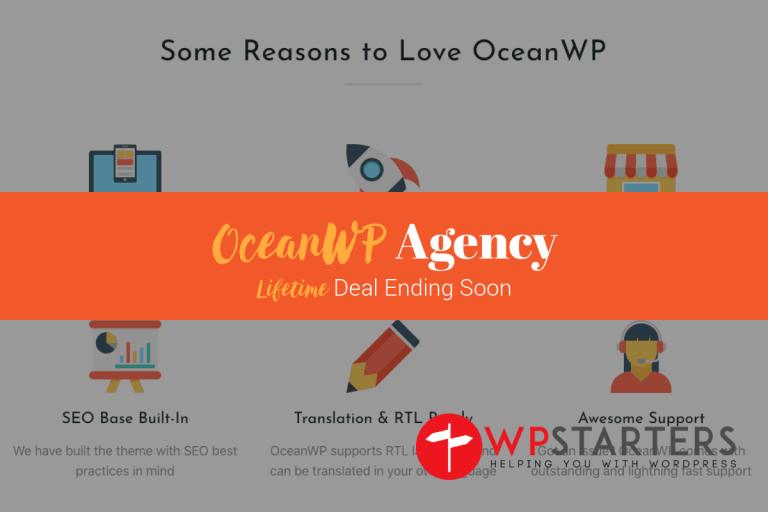 OceanWP Lifetime Unlimited Ending July 2019