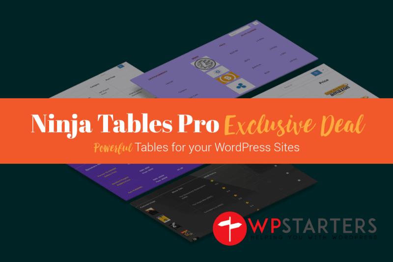 Ninja Tables Pro Lifetime Exclusive Deal