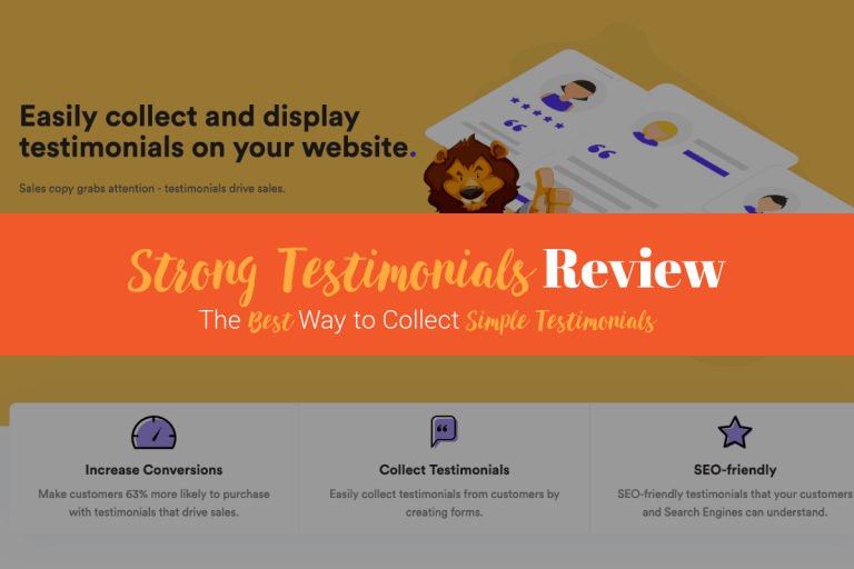 Strong Testimonials Review