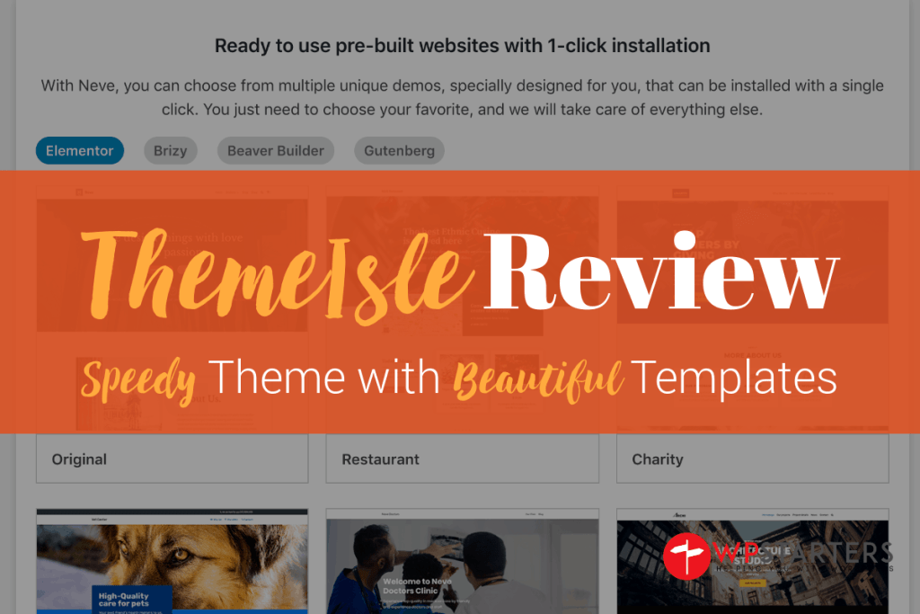 ThemeIsle Review