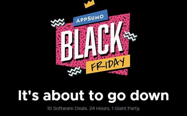 AppSumo Black Friday 2019 Deals