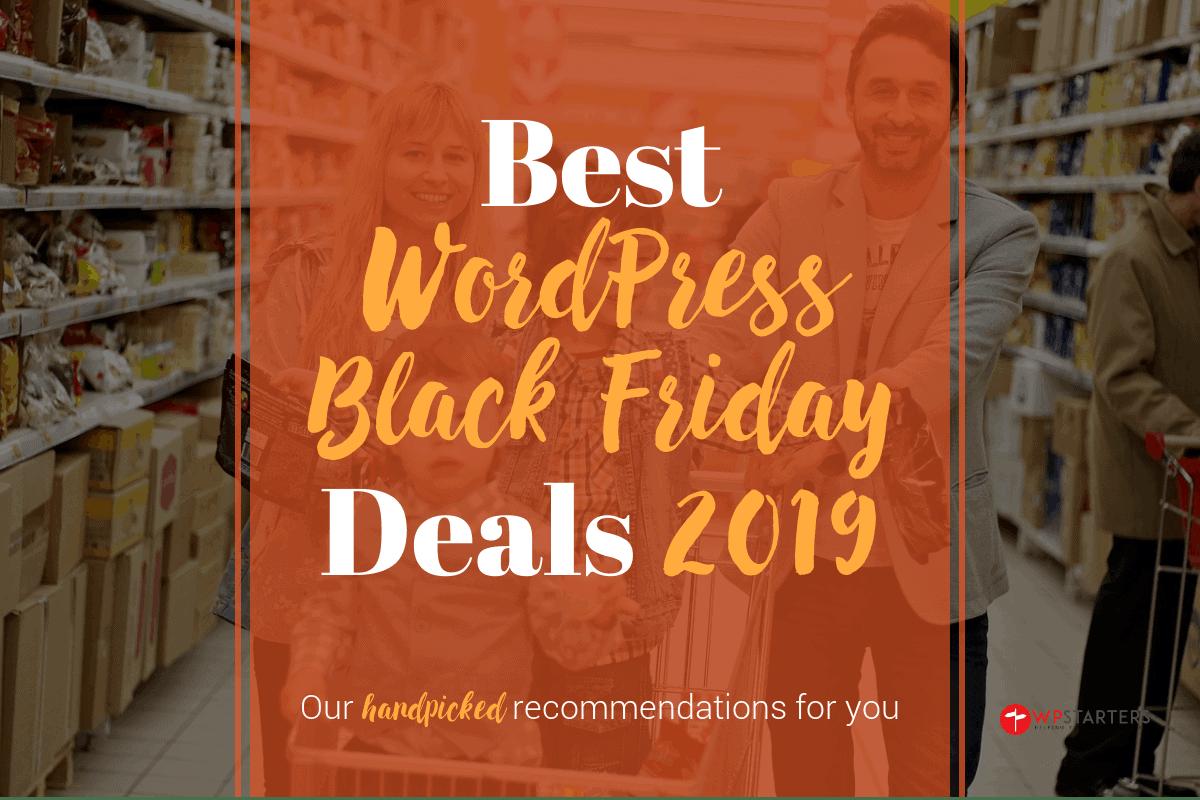 Best WordPress Black Friday Deals 2019