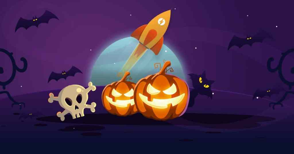 WP Rocket's generous discounts for Halloween, will leave your site fast