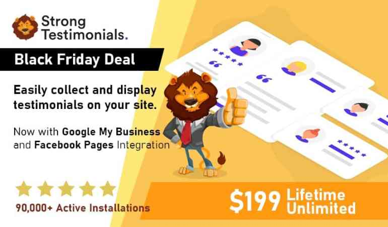Strong Testimonials is back, stronger and better. And the lifetime deal is a must-have!
