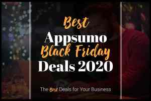 best appsumo black friday deals 2020