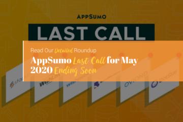 appsumo last call 2020