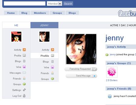 Make BuddyPress Look Like Facebook – WordPress Tavern