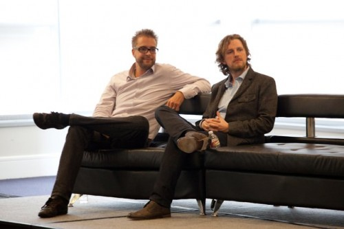 Dries Buytaert And Matt Mullenweg