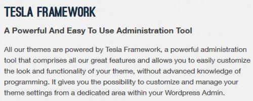 TeslaThemes Framework