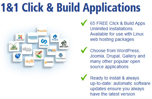 1&1 Click And Build Installer Practically Useless