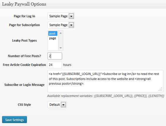 Plugin Review – Leaky Paywall – WordPress Tavern