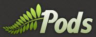 Pods Logo Dark