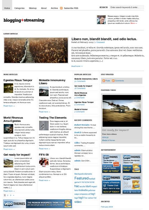 bloggingstream-theme