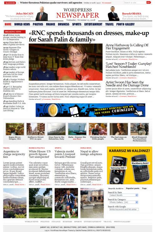 wordpress-newspaper-theme