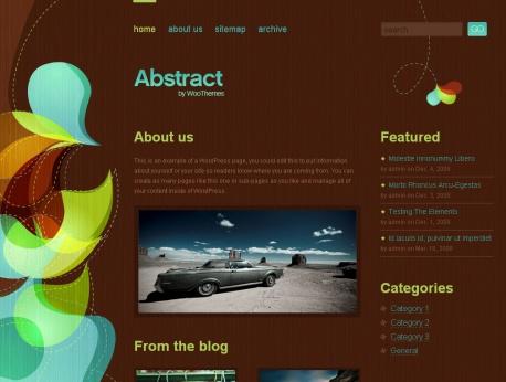 abstract-wordpress-theme