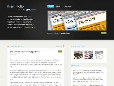 fresh-folio-wordpress-theme