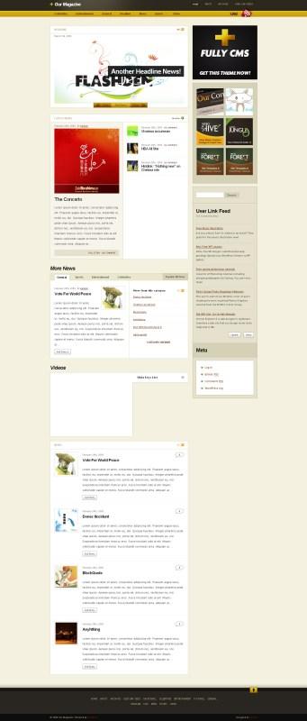 our-magazine-wordpress-theme