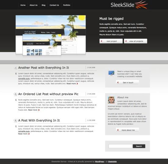 sleekslide-wordpress-theme