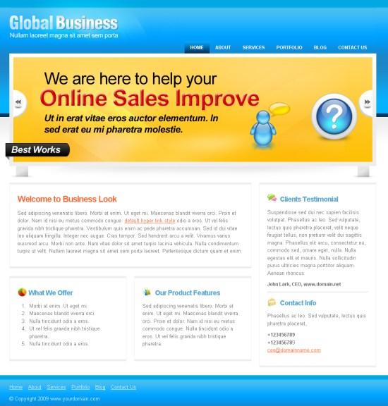 global-business-wordpress-theme