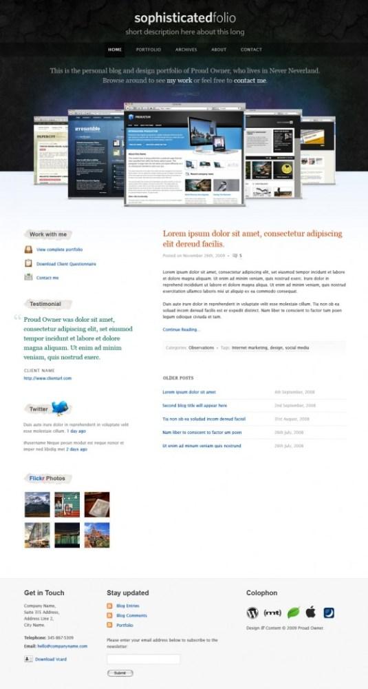 sophisticatedfolio-wordpress-theme