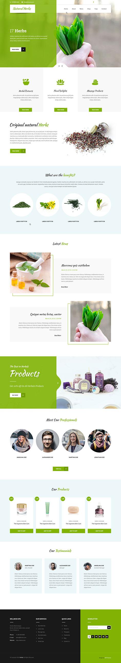 spices WordPress theme